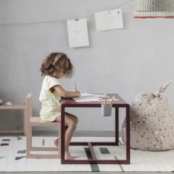 Ferm Living chaise enfant little architect rose