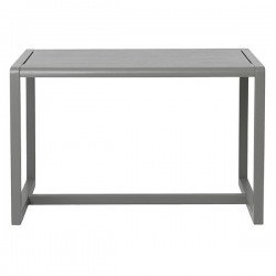 Ferm Living table enfant little architect grise