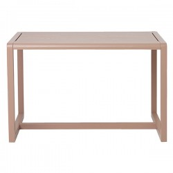 Ferm Living table enfant little architect rose