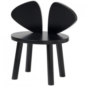 Mouse chair black Nofred