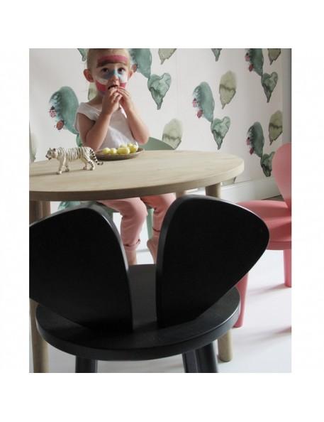 Chaise enfant Mouse - noir