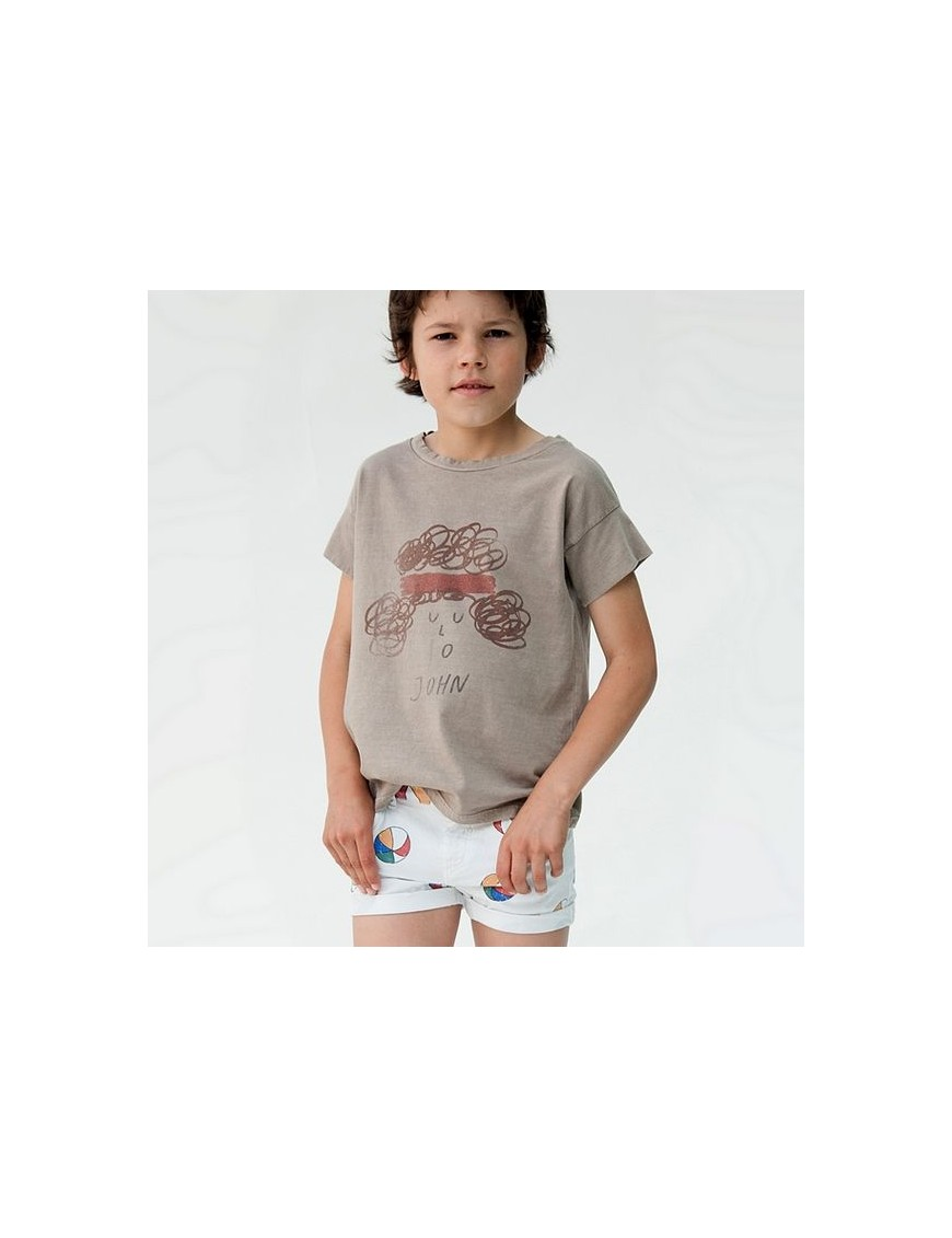 Bobo choses short denim basket ball