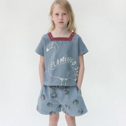 Bobo choses bermuda denim basket ball