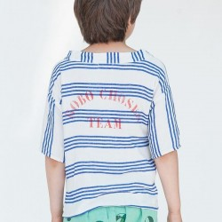 Bobo choses striped kimono shirt