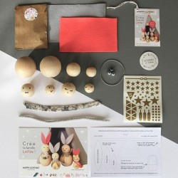 Creative kit : Create your own bunnies family