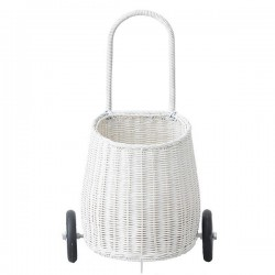 Olli Ella Luggy basket white