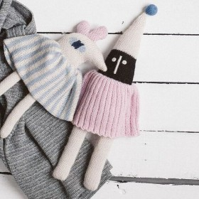 baby doll pink bird by Main Sauvage