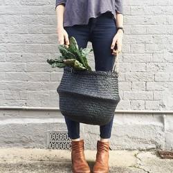 black basket - medium - Olli Ella