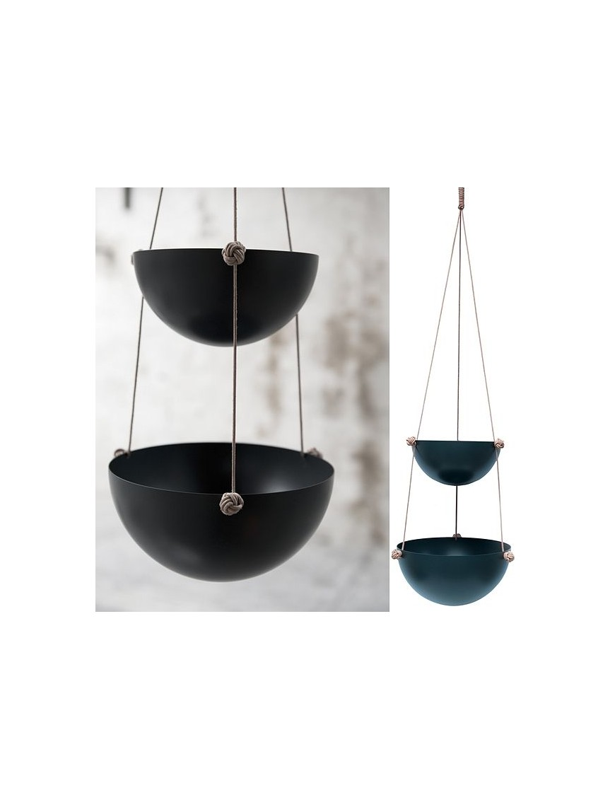 oyoy hanging storage medium pif paf puf - black