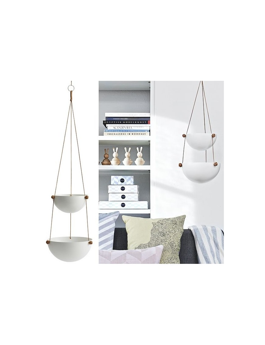 oyoy hanging storage medium pif paf puf - white