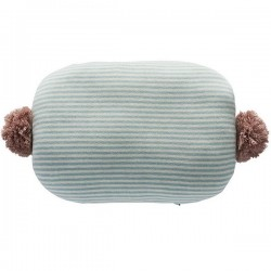 oyoy bonbon cushion mint & off-white /rose