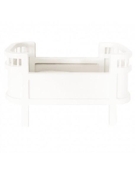 Smallstuff - lit de poupée design mini blanc