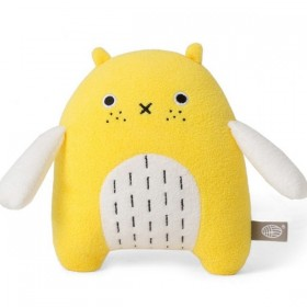 'Do' Bird Plush Toy - yellow by NOODOLL
