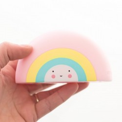 A Little Lovely Company | baby bath toy: rainbow