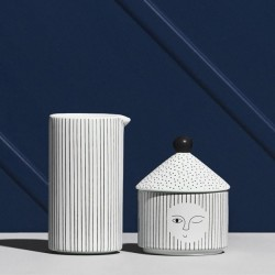 cadeau design original : coffret sucrier + pot à lait