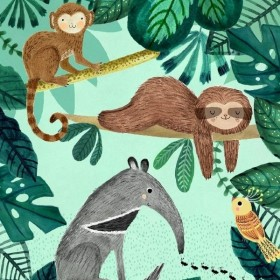 poster jungle (50x70cm) | Petit Monkey
