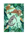 Affiche jungle (50x70cm) | Petit Monkey