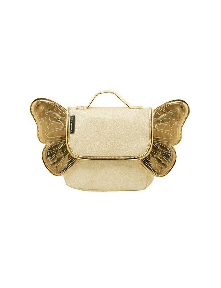 butterfly-backpack-gold-Caramel-Cie
