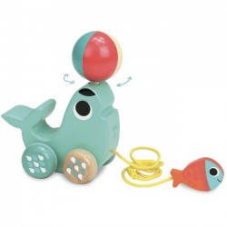 Ingela P Arrhenius pull along toy: Sea lion | Vilac