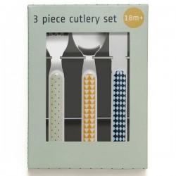 Kids cutlery set : mouse drops pebble | Haciendo el indio
