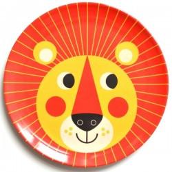 Assiette enfant mélamine lion Ingela P. Arrhenius - OMM DESIGN