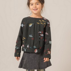 "Bobo Choses | blouse ""deep sea"""