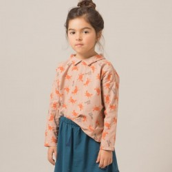 "8/9A - Bobo Choses | blouse ""crab your hand"""