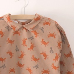 "Bobo Choses | blouse ""crab your hand"""