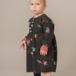 "Bobo Choses - baby dress ""deep sea"""