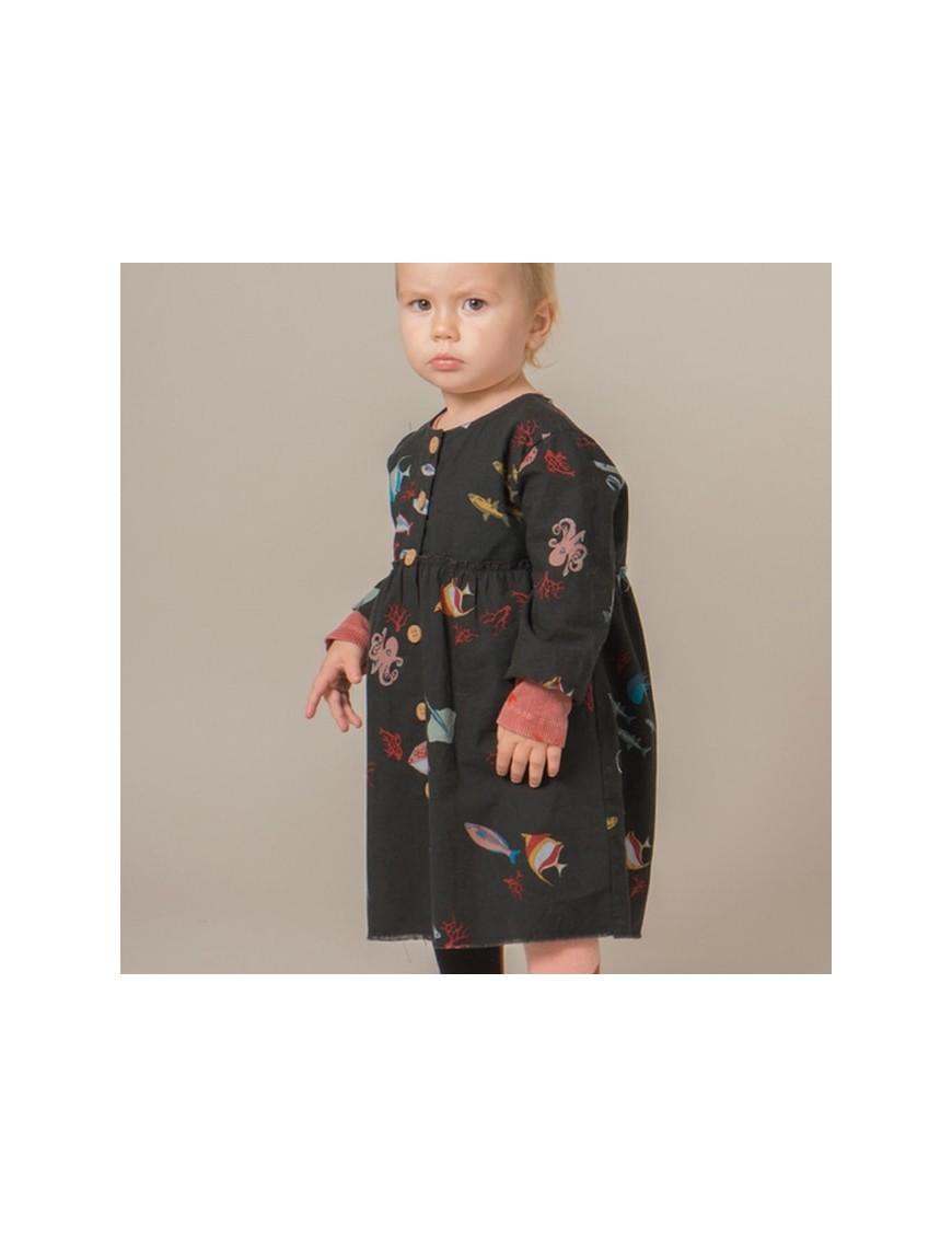 "Bobo Choses - baby dress ""deep sea"""