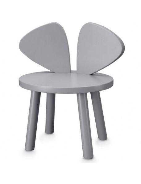 Nofre - chaise enfant Mouse - grise