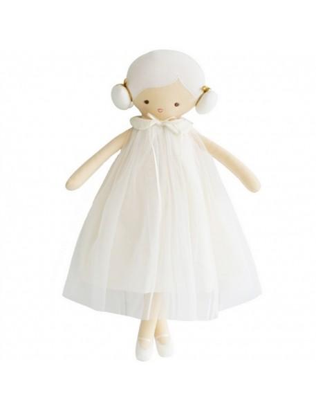 ALIMROSE design - poupée : Lulu doll (blanche) 48 cm
