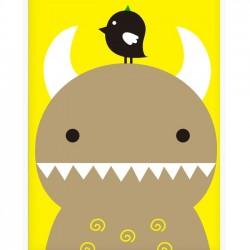 Affiche-chambre-bebe-design-42x59cm-NOODOLL-RiceMon