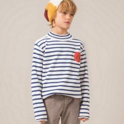 "Bobo Choses | Pull marin ""loup de mer"""