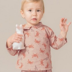 "12/18M - Bobo Choses | blouse bébé ""crab your hand"""