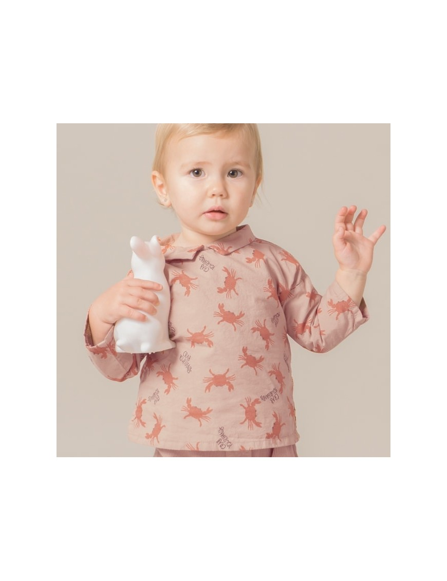 "Bobo Choses | baby blouse ""crab your hand"""