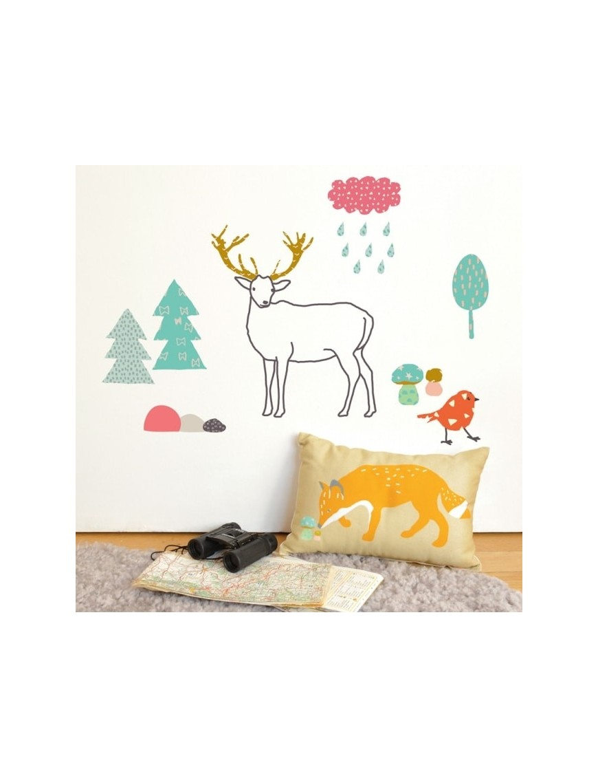 Mimi' lou - Forest stickers
