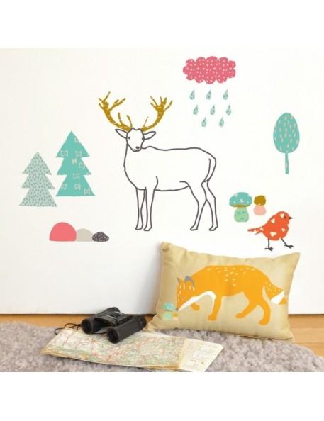 Mimi'Lou - Sticker : Forêt