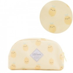 eef lillemor pencil case: lemon - yellow