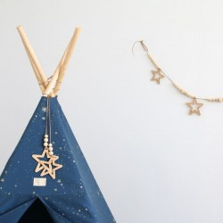 Nobodinoz - star and pearl garland (165cm)
