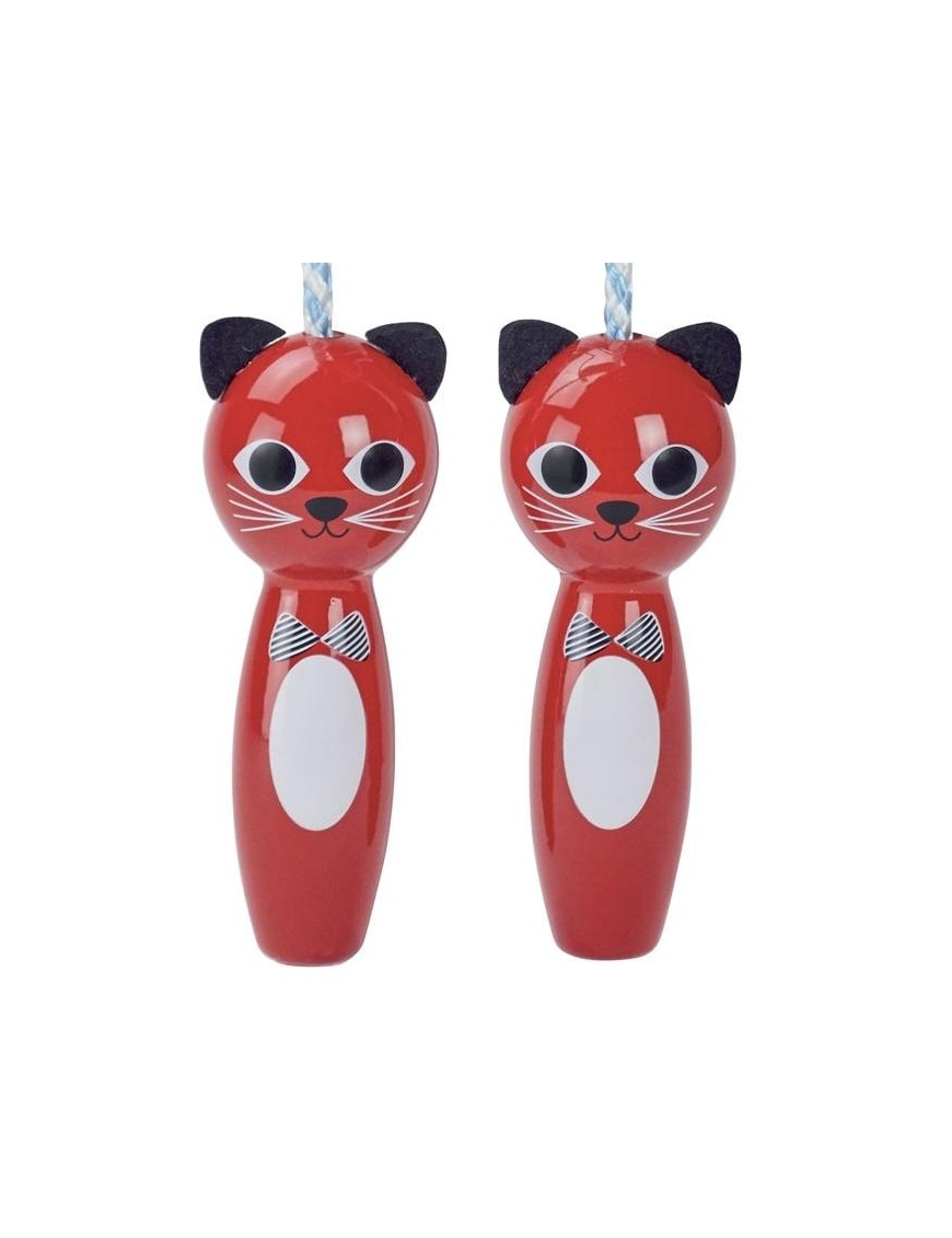 Ingela P Arrhenius - jumping rope : cat - Vilac kids toys