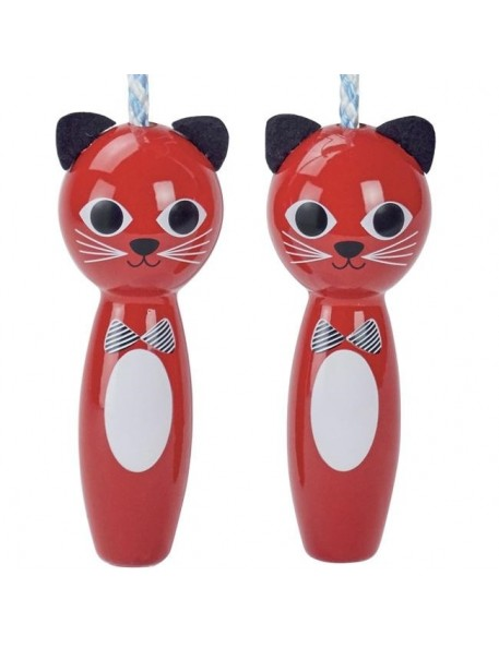 Ingela P Arrhenius - corde à sauter enfant : chat - jouets Vilac