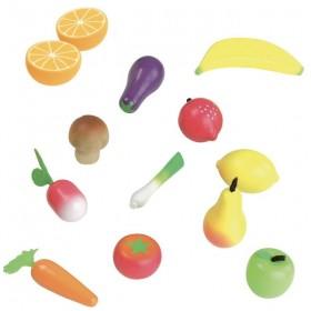 """fruits & légumes en bois """"jour de marché"""" - Jouets Vilac"""