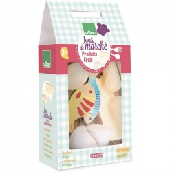 "Wooden fresh food set ""jour de marché"" - Vilac toys"
