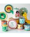 Ingela p Arrhenius - animal tin tea set - omm design