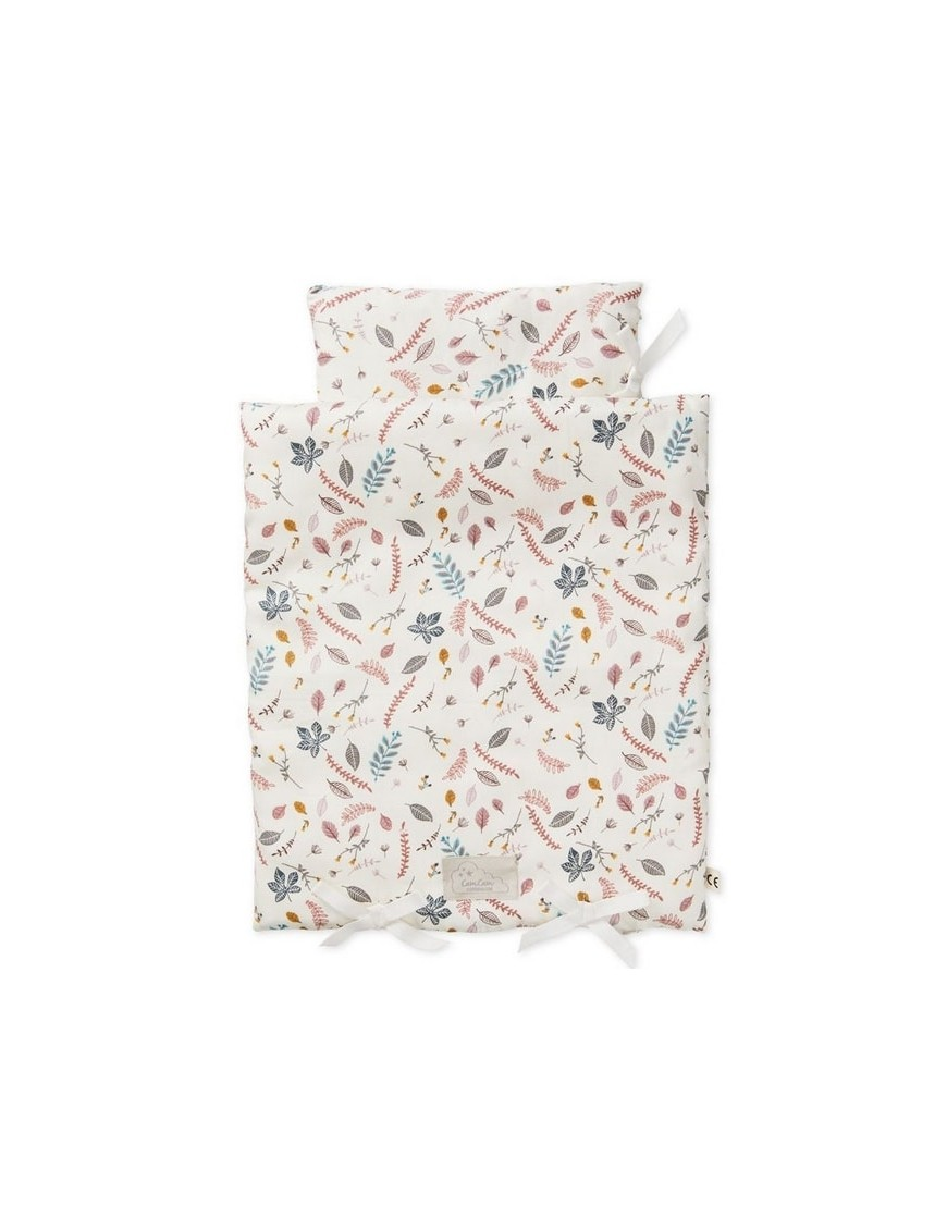 CamCam Copenhagen - doll's bedding : pressed leaves
