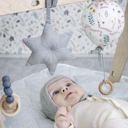 "Jouet d'éveil bébé - hochet à suspendre ballon en tissu ""luca"" - CamCam Copenhagen"