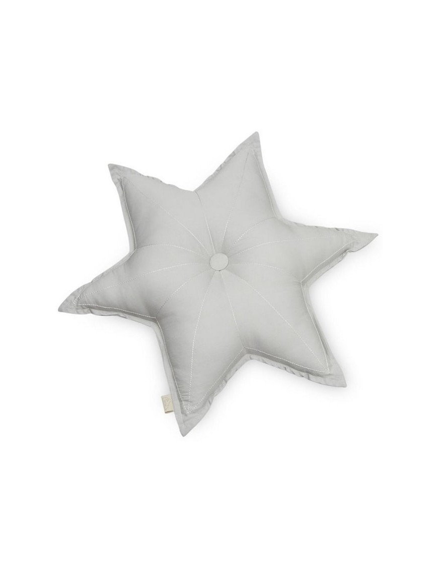 Camcam Copenhagen - grey star cushion (50cm)