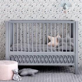 Camcam Copenhagen - grey star cushion (50cm)