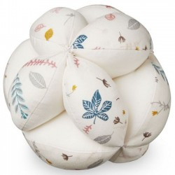 CamCam Copenhagen - baby ball (organic cotton) : pressed leaves